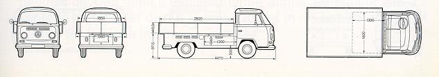 Model 26 - Pick up (With Enlarged Wooden Platform)