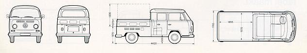 Model 26 - Pick up (Double Cabin)