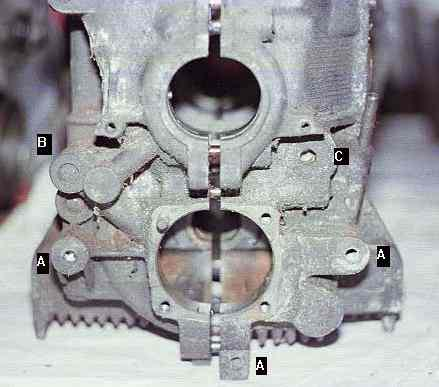 Engine case mounting points for Where can i drop off used motor oil